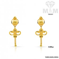 Canny Gold Fancy Earring