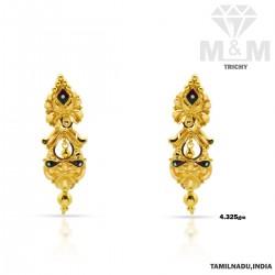 Exquisite Gold Fancy Earring