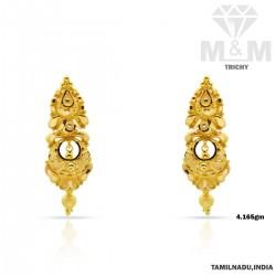 Fascinate Gold Fancy Earring