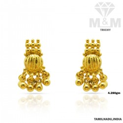 Impossibly Gold Fancy Earring