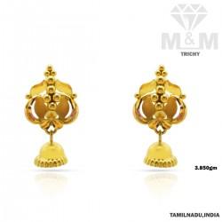 Inspired Gold Fancy Earring