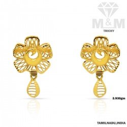 Marvelous Gold Fancy Earring