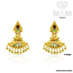 Marvels One Gold Fancy Earring