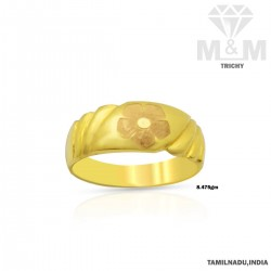Nifty Gold Fancy Ring