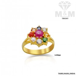 Quite Gold Navaratna Stone...