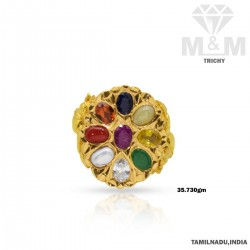 Serene Gold Navaratna Stone...