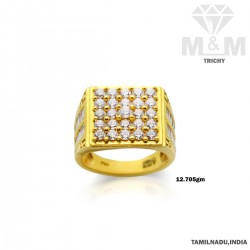 Strange Gold Fancy Stone Ring