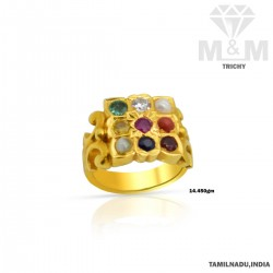 Prettiest Gold Navaratna...