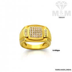 Tranquil Gold Fancy Stone Ring