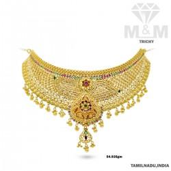 Vivacious Gold Fancy Necklace