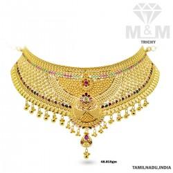 Auspicious Gold Fancy Necklace