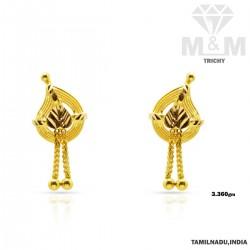 Legendary Gold Fancy Earring