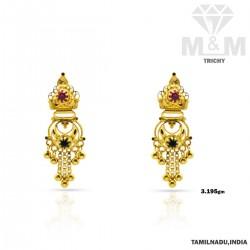 Acclaimed Gold Fancy Earring