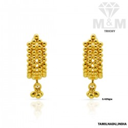 Venerable Gold Fancy Earring