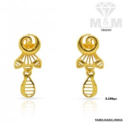 Observant Gold Fancy Earring