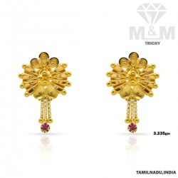 Festivity Gold Fancy Earring