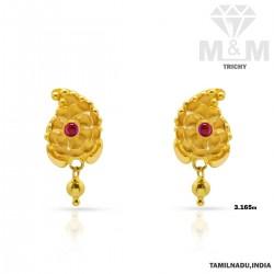 Jazziest Gold Fancy Earring