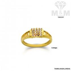 Festivity Gold Fancy Stone Ring