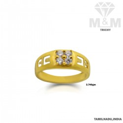 Delightful Gold Fancy Stone...