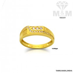 Culture Gold Fancy Stone Ring