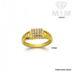Ancient Gold Fancy Stone Ring