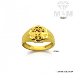 Formidable Gold Balaji Ring