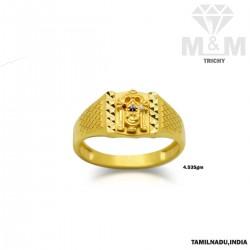 Incisive Gold Lord Balaji Ring