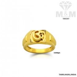 Favorite Gold Casting Om Ring