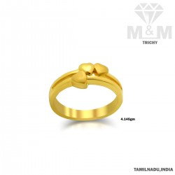 Celebrated Gold Casting Ring