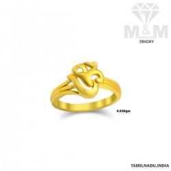 Enthral Gold Casting Ring