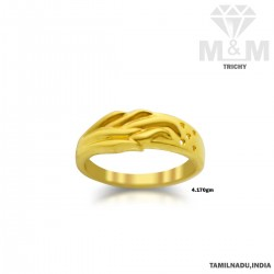 Attractivity Gold Casting Ring