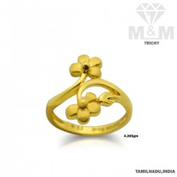 Mannerly Gold Casting Ring