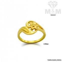 Prosperous Gold Casting Ring