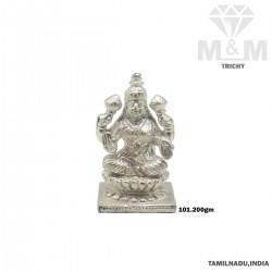 Canny Silver Sri Lakshmi Idol
