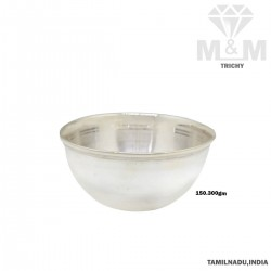 Charming Silver Fancy Bowl