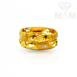Miraculous Gold Fancy Bangles
