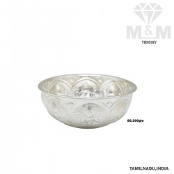 Dandy Silver Fancy Bowl