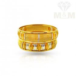 Majestic Gold Fancy Bangles