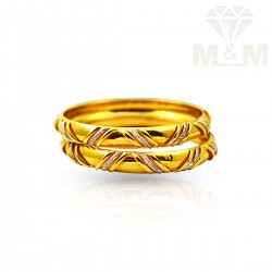 Nicest Gold Fancy Bangles