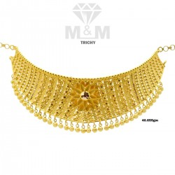 Enchanting Gold Fancy Necklace