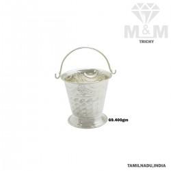 Marvelous Silver Fancy Bucket