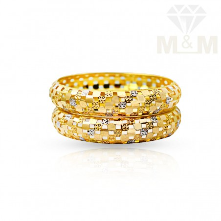 Perfect Gold Fancy Bangles