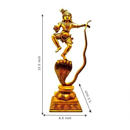 Brass Shri Krishnar Statue