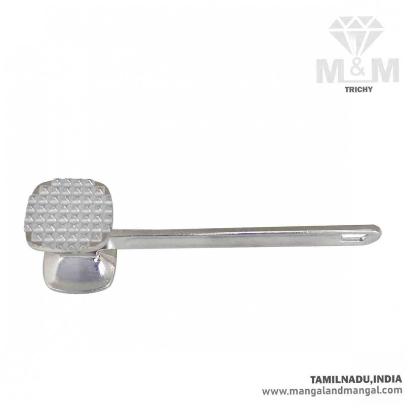 M M Aluminium Two Sided Heavy Meat Tenderizer Nut Cracker Ice Breaker Hammer Mallet Kitchen Cooking Tool