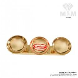 Brass Kumkum Holder / Kumkum Box