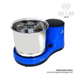 Amirthaa Surabi 2 Liter Table Top Wet Grinder 150 Watts. Blue & Red