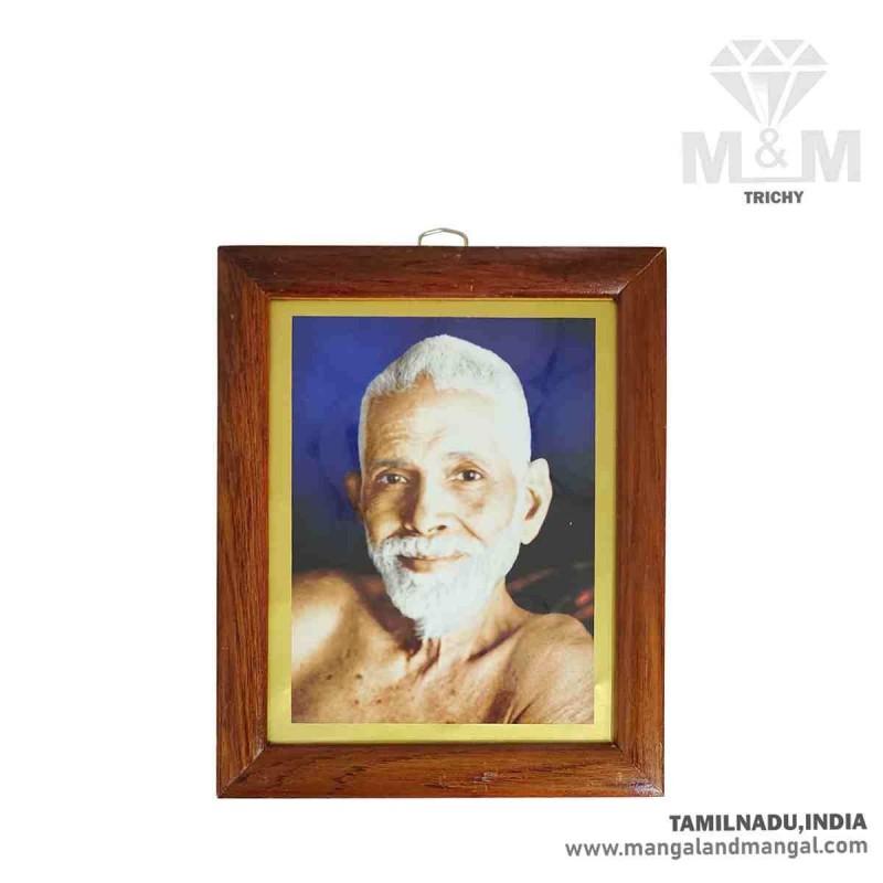 Handicraft Sri Ramana Maharshi Photo Frame / Who am i - Bhagavan Ramana