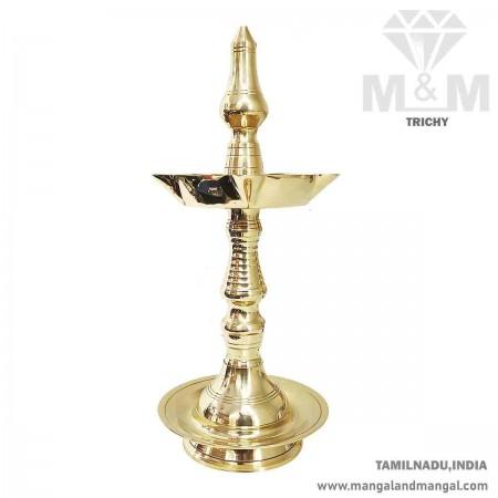 Brass Divine Fancy Kuthu Vilakku / Stand Oil Lamp / Brass Diya