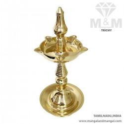 Brass Divine Fancy Kuthu Vilakku