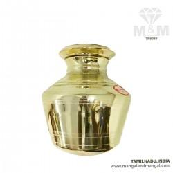 Brass Pooja Kudam / Thondi